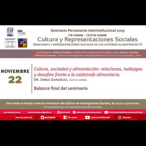 Cultura, sociedad y alimentación: relaciones, hallazgos y desafíos frente a la catástrofe alimentaria @ Auditorio